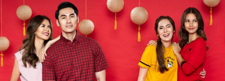 Ide Outfit Keluarga Untuk Menyambut Chinese New Year 2021