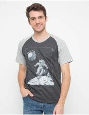 T Zone T-Shirt Raglan Space Series