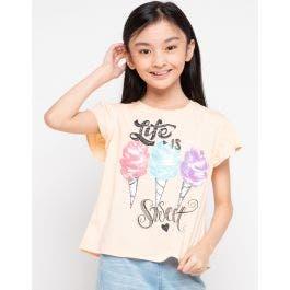 Jsp Girl Tshirt Color Me Happy 04 (5-14 Tahun)