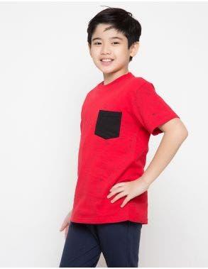 Nevada T-Shirt Splash Pocket 1 Anak Laki-Laki